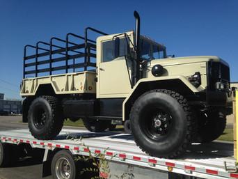 M35A2 Bobbed 2.5 Ton- Shipped to Long Island, NY