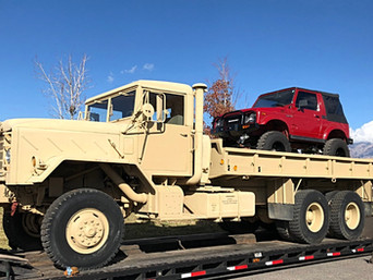 M942 900 Series 5 Ton Long Wheelbase 6x6- Shipped to Yakima, Washington