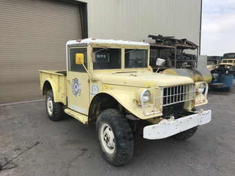 M37 Dodge 3/4 Ton 1954 Pickup- Shipped to Massachusetts