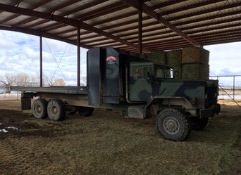 M923A2 900 Series 5 Ton 6x6 w/Hay Processor- Local Pickup