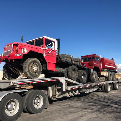 M813 800 Series 5 Ton & M35A2 6x6- Shipped- Nevada