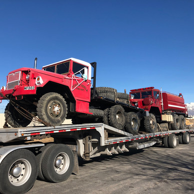 M813 800 Series 5 Ton & M35A2 6x6- Shipped- Nevada