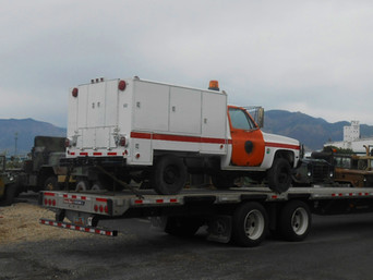 M1031 Chevy Maintenance Truck- Shipped