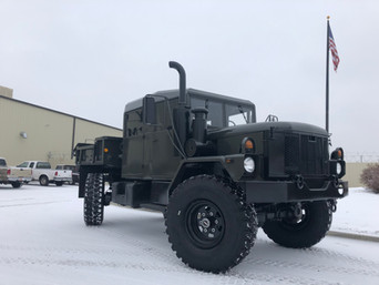 BUILD OF THE DECADE!!! M35A3 Bobbed 2.5 Ton 4 Door 4x4- Shipped, Texas