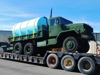 M923 900 Series 5 Ton w/ Tank- Shipped
