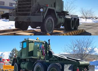M916 AM General 20 Ton Tractor- SLC, Utah
