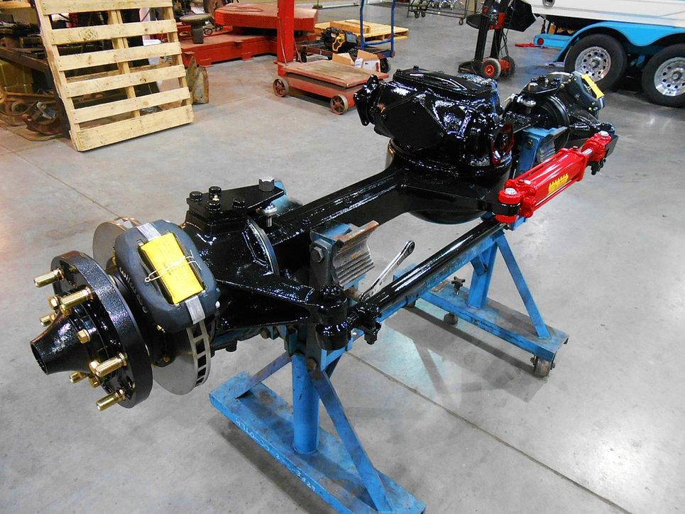 Boyce Equipment Rockwell 2 5 Ton Axles