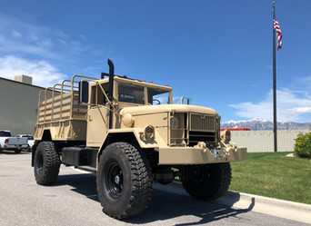 M35A2 Bobbed 2.5 Ton 4x4- Shipped to Salinas, CA
