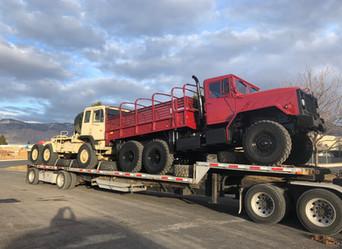 M923A2 900 Series 5 Ton & M1088 MTV 5 Ton 6x6- Shipped to Texas