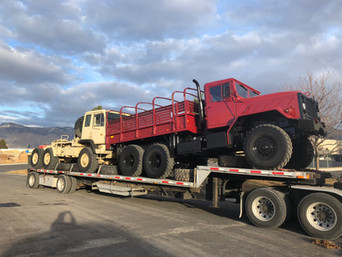M923A2 900 Series 5 Ton & M1088 MTV 5 Ton 6x6- Shipped to Texas