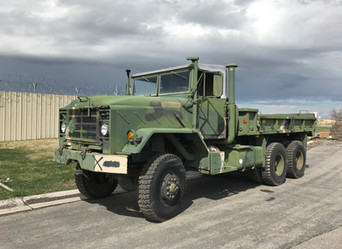 M925A1 900 Series 5 Ton 6x6 (2)- Shipped, California