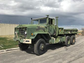 M925A1 900 Series 5 Ton 6x6 (2)- Shipped, California