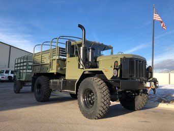 M35A3 Bobbed 2.5 Ton 4x4- Shipped to Granite Canon, WY
