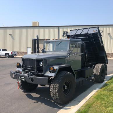 M35A2 Bobbed 2.5 Ton 4x4 Dump Truck- Shipped- Aurora, CO