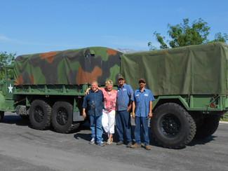 M35A3 2.5 Ton w/M105 Trailer- Drove Home
