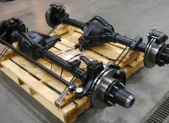 Rebuilt Dodge Dana 60 Front Axle & GM 14 Bolt Rear Axle- Shipped