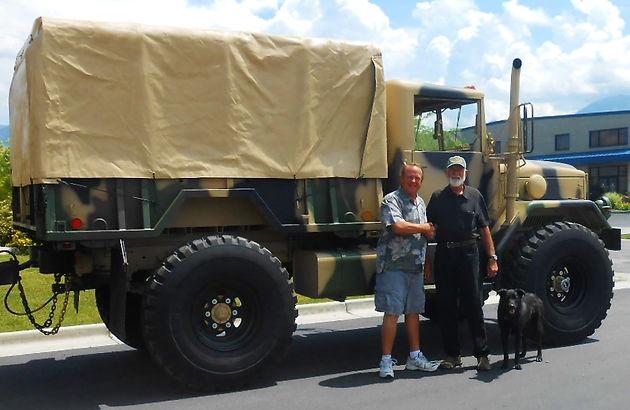 M35a2 Bobbed 2 5 Ton W M105 Trailer Southern Utah