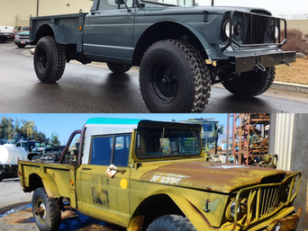 M715 Kaiser Jeep- Shipped to Florida