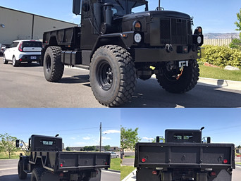 M35A3 Bobbed 2.5 Ton 4x4- Shipped to Texas