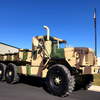 M35A3 2.5 Ton 6x6 w/ Custom Dump Bed- Shipped to Connecticut
