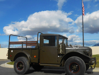 M37 Dodge 3/4 Ton- Picked Up