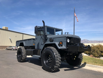 M35A2 Bobbed 2.5 Ton 4x4- Shipped to California