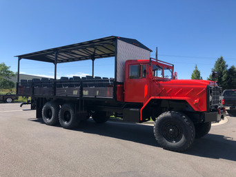 Custom M923A2 900 Series 5 Ton 6x6 (2)- Shipped to Gatlinburg, Tennessee