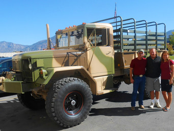M35A2 Bobbed 2.5 Ton- Picked Up, Drove Home- Montana