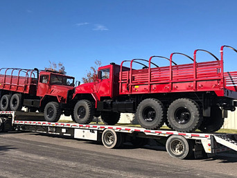 M923A2 & M923A1 900 Series 5 Ton 6x6- Shipped to Houston, TX