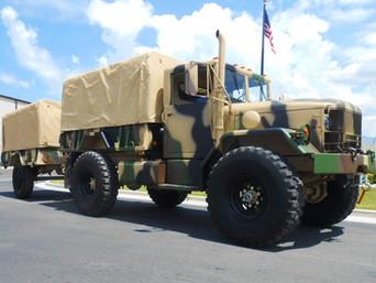 M35A2 Bobbed 2.5 Ton w/ M105 Trailer- Southern Utah