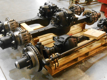 Rebuilt Front GM Dana 60 Axle & (2) Rebuilt Rockwell 2.5 Ton Rear Axles- Picked-Up