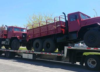 M923A2 900 Series 5 Ton 6x6 (2)- Shipped to Houston, Texas