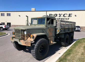 M35A2C 2.5 Ton 6x6- Shipped- Red River, New Mexico