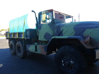 M923A2 900 Series 5 Ton w/Tank- Picked-Up