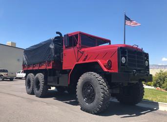 M925 900 Series 5 Ton 6x6- Shipped to Houston, Texas
