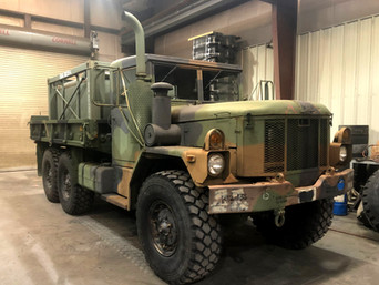 M35A3 2.5 Ton 6x6 w/ 900 Gal. Fuel Tank- Local Pickup