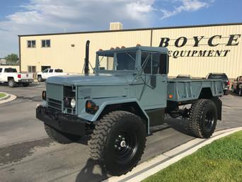 M35A2 Bobbed 2.5 Ton 4x4- Local Customer- Utah/Idaho