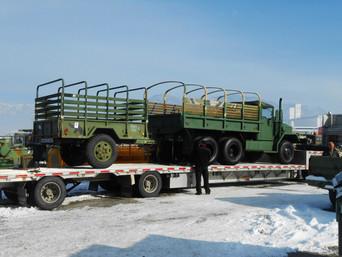 M35A2 2.5 Ton w/ M105 Trailer- Shipped