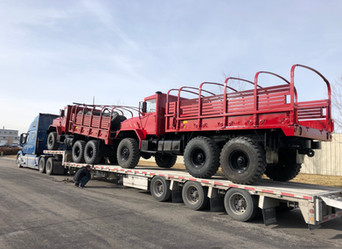 M923A2 & M923A1 900 Series 5 Ton 6x6- Shipped to Houston, Texas