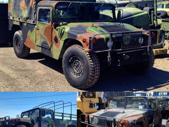 M998 Humvee (HMMWV) - Shipped to Connecticut