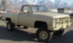 M1008 1 1/4 Ton GM Pickup