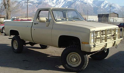 M1008 1 1/4 Ton GM Pickup