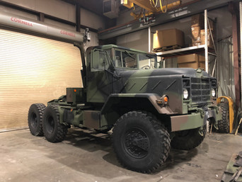 M931A2 900 Series 5 Ton 6x6- Shipped to Idaho