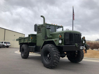 M35A3 Bobbed 2.5 Ton 4x4- Shipped to Nebraska