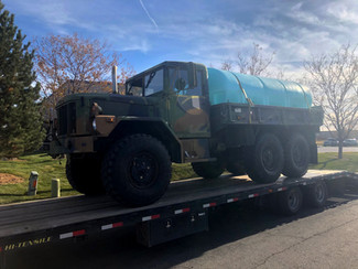 M35A3 2.5 Ton 6x6 w/Poly Tank- Shipped- Whitewater, Colorado