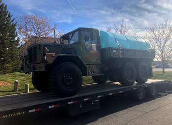 M35A3 2.5 Ton 6x6 w/Poly Tank- Shipped- Whitewater, Colorado