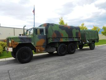 M35A3 2.5 Ton w/ M105 Trailer