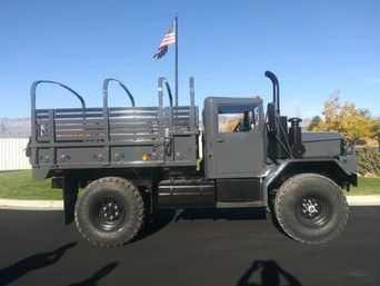 M35A3 Bobbed 2.5 Ton 4x4- Customer Pick-Up