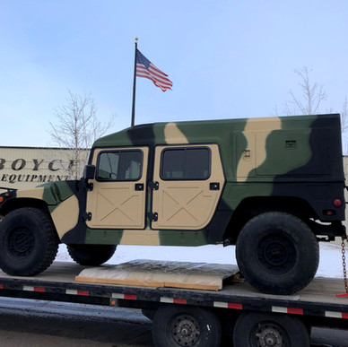 M998 Military HMMWV w/Helmet Top- Shipped- Montana