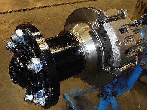 2.5 Ton Rear Hub Mount Disc Brake Kit